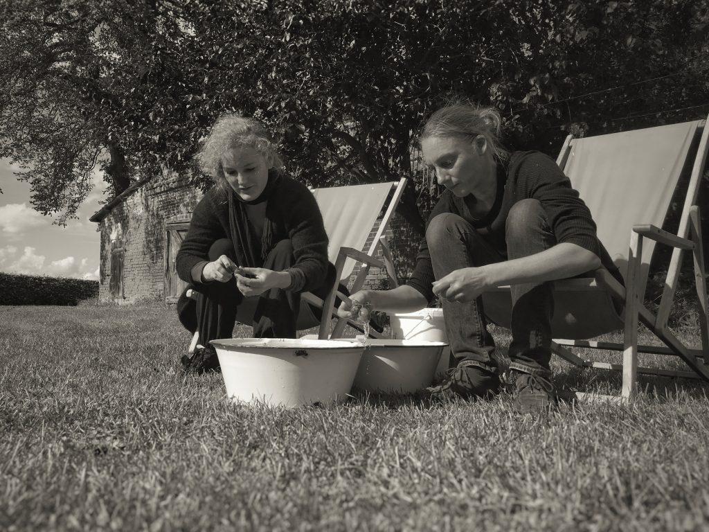 Kochen im Tai Chi Camp in Polen