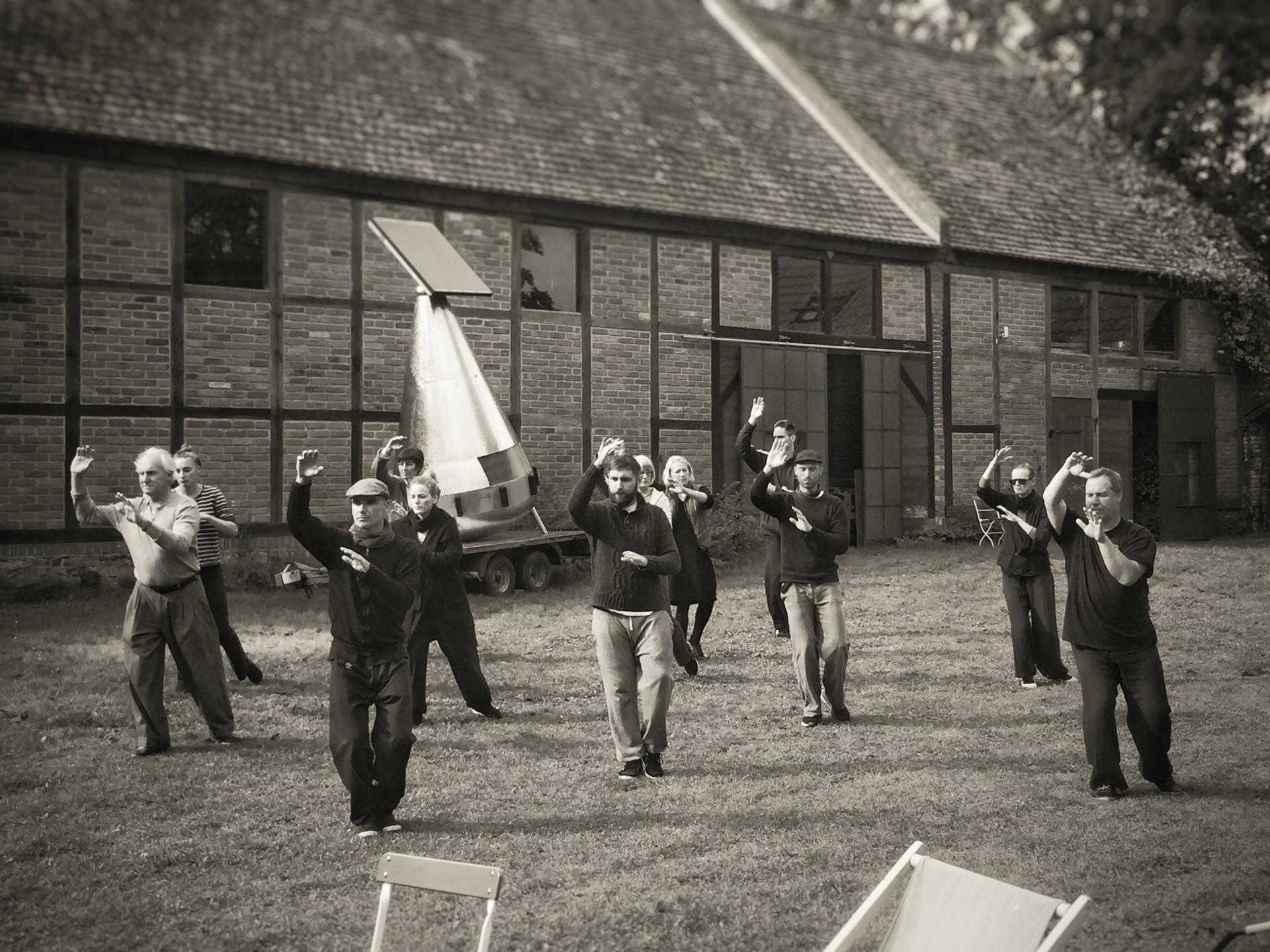 Ma Tsun Kuen Tai Chi Chuan Kurzform im Tai Chi Camp in Polen