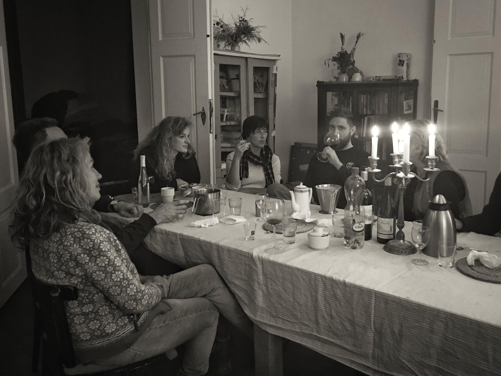 Feiern im Tai Chi Camp in Polen