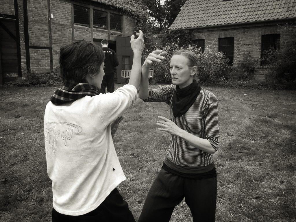 Ma Tsun Kuen Tui Shou im Tai Chi Camp in Polen